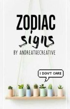 Zodiac signs by Andreathecreative