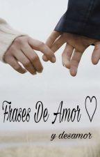Frases de amor❤ by Clary-1234