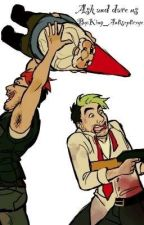 Ask and Dare us! by King_Antisepticeye