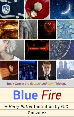 Blue Fire - Fred Weasley - [1] by gcgonzalez