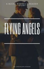 Flying Angel (Bucky Barnes x reader) by ChocolateWidow