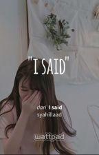 I said by syahillaad