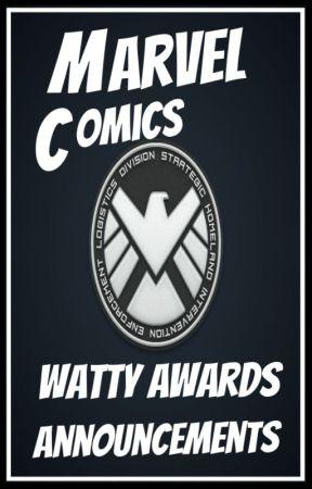 Marvel Comics Watty Awards Announcements by MarvelComicsWA