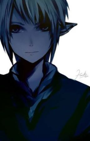 You're the light for my darkness  - tsundere!Dark Link x Emo! Reader by C00k13ArtsyFl0w3r1