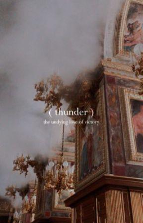 thunder!      ( benny rodriguez. ) by anathewildgirl