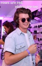roses are red, violets are too | joe keery by softober