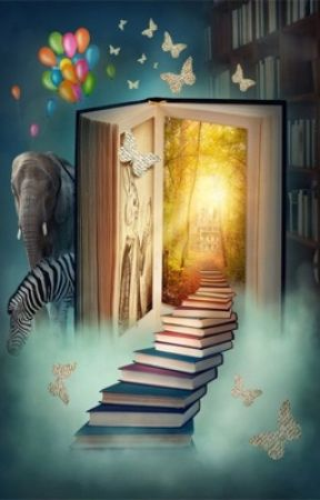 Viajeros entre libros  by Sofia_Potter2004