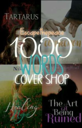 1000 Words Cover Shop by Escapethepeace
