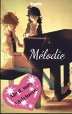 Mélodie (Melodía) [AU Adrinette One-shot] by hanzzelle