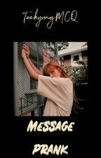 ♡ • 01 | Message Prank || BTS Jungkook • ♡ by TaehyungMCQ