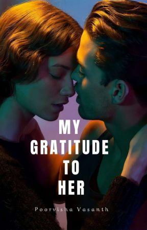 MY GRATITUDE TO HER by PoorvishaVasanth