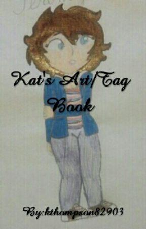 Kat's Art/Tag Book by Kit-Kat-24601