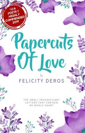 Papercuts Of Love by felicityderos