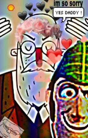 Ceramic Cocaine: Forbidden Love (Sigmund Freud x Sherlock