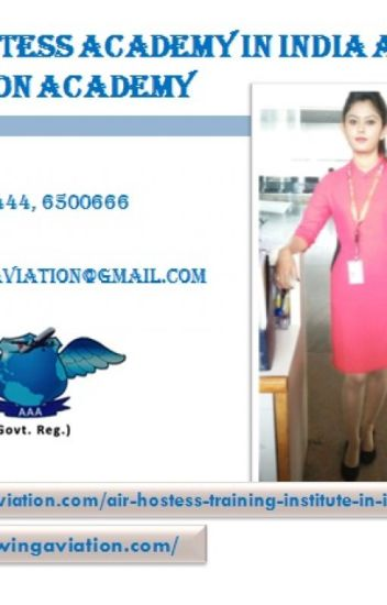 Air Hostess Job in India Airwing Aviation Academy - Airwing Aviation