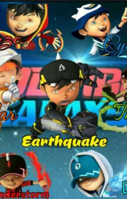Boboiboy: Super Heroes From Earth.