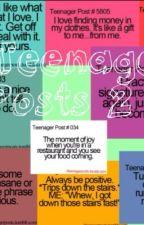 TEENAGE POSTS 2 by twinkleetoesonapinky
