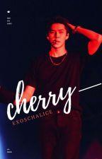 cherry오 sehun  by exoschalice