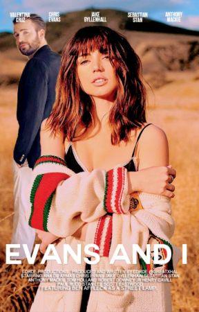 EVANS & I ;  c. evans by sparklefists