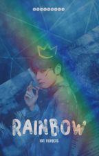 ❝ Rainbow ❞   ᜴⃕͜➷ Kim Taehyung এ 방탄소년단 [∅✶*] by jeonwonka