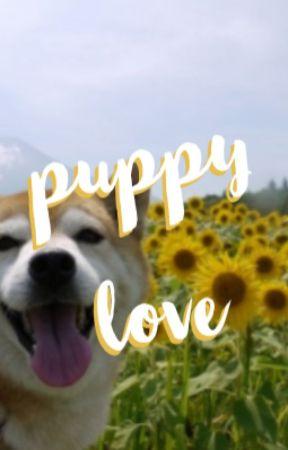 puppy love ; cake by sunshinehemmings