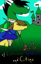 The Krew: The Dracon Of Emerald, Sapphire And Citrine by cassiethedragon