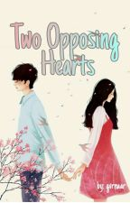 Two Opposing Hearts  by givarina