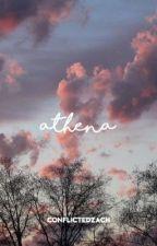 athena ▷ zach herron ✔️ by conflictedzach