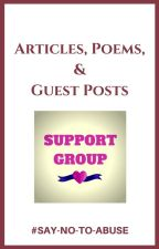 Articles, Poems, & Guest Posts - Support Group Book by SayNoToAbuse