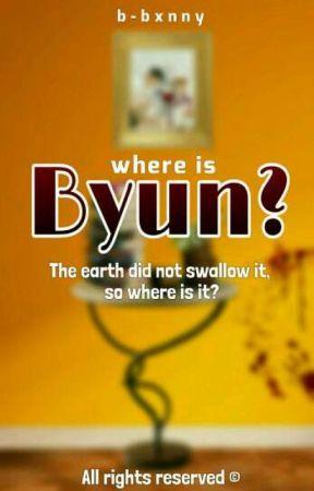 Where is Byun? ➪ ChanBaek by b-bxnny
