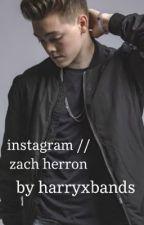 Instagram // Zach Herron by audrey_mahome