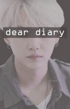 Dear Diary • Yoongi [Single Father Extra] by xgoldenxmaknaex