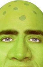 Two worlds collide (a Nicolas Cage and Shrek fan fiction) by nicolascageluv