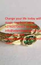 magic ring that brings money everyday get money spells +27820706997 by adamhealer