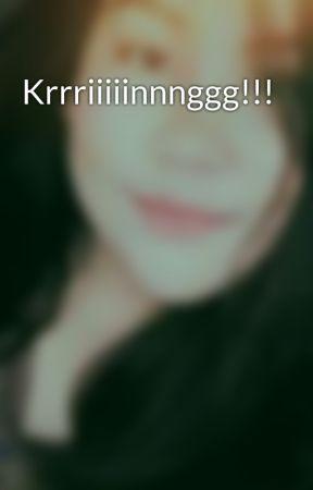 Krrriiiiinnnggg!!! by akosilorilaine