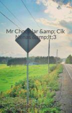 Mr Choco jar & Cik Nenas <3 by jelitaaqiela120105