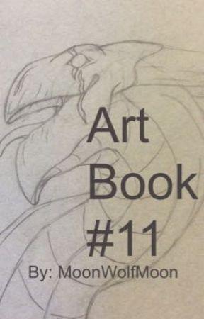 Art Book #11 by MoonWolfMoon