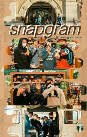 snapgram ✖ k-idols by swagyeomie