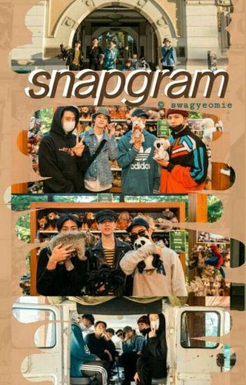 snapgram ✖ k-idols