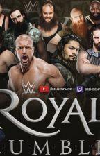 WWE Royal rumble 2018 by Raj003