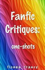 Fanfic Critique: One Shots by fionna_trancy