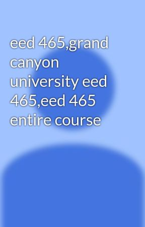 comparison matrix and essay eed 465
