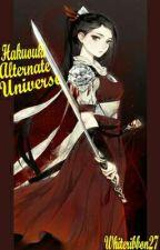 Hakuouki Alternate Universe by whiteribbon27