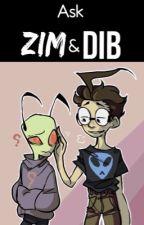 Ask Zim & Dib  by Torikour