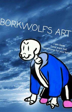 My 'Bork' of Trashy Art! by BorkWolf