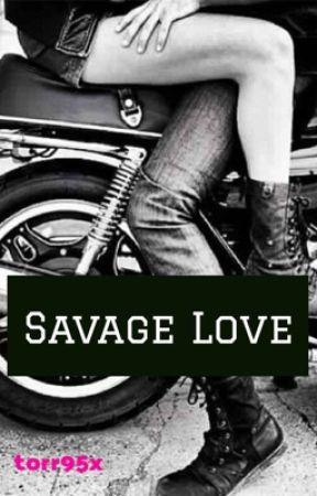 Savage Love   Crimson Wolves MC *REWRITTEN* by torr95x