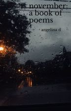 november; a book of poems by a6ngie