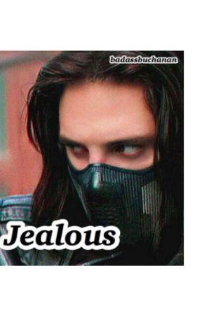 Jealous (Bucky x Reader) by badassbuchanan