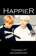 Happier   //Yoonmin by xsugamochix