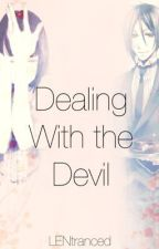 Dealing With the Devil: Sebastian MichaelisxOC [3rd Place (Sebastian) KuroWA'14] by LENtranced
